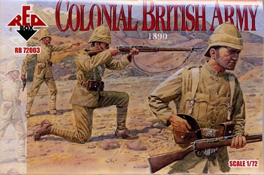 Colonial British Army 1890