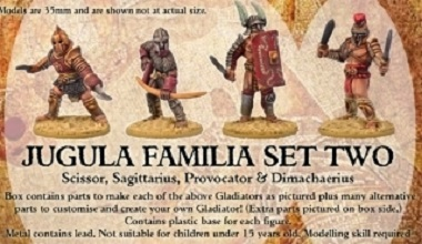 JUGULA Gladiators - FAMILIA 2