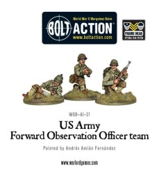 US Army Forward Observer Officers (FOO)