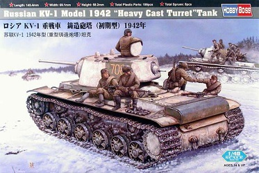 KV-1 1942 Heavy Cast Turret Tank