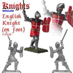English Knight on foot