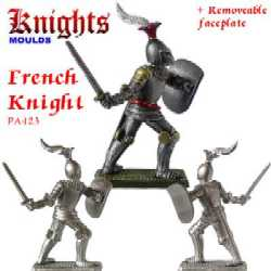 French Knight on foot