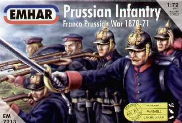 Prussian Infantry Franco Prussian War 1870-71