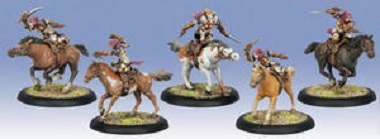 Protectorate Flameguard Light Cavalry Unit