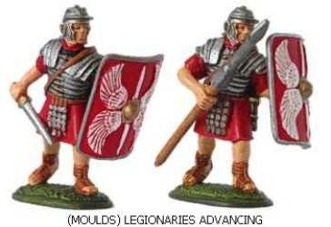 Legionaries advancing