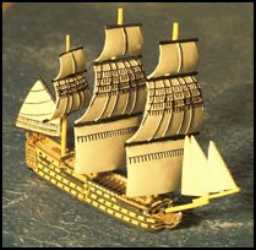100-Gun Ship: HMS Victory, Full Sails