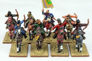 Mounted Saracen Warriors with Bows