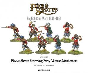 Pike & Shotte Musketeers on Campaign