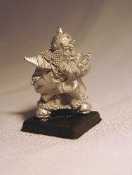 Dwarf Adviser with plans and instruments