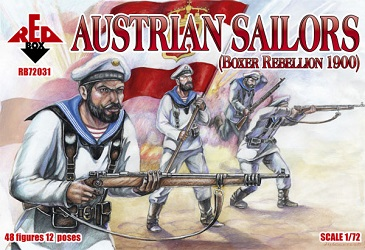Austrian Sailors, Boxer Rebellion 1900