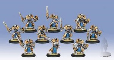 Cygnar Sword Knight Unit Box