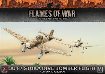 Ju 87 Stuka Dive Bomber Flight